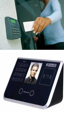 control accesos por tarjeta